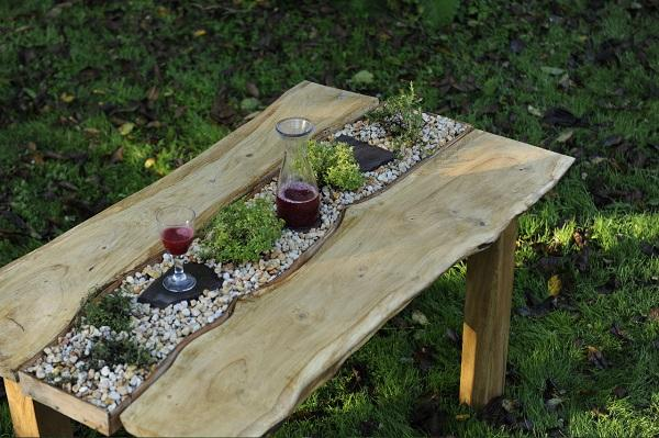 Tuintafel 'Dinner at my Gardenpath'
